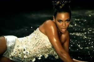 Beyonce in The Blonds for her Upgrade U music video, 2007