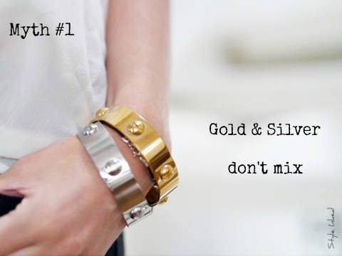 Gold silver or rose gold mix metals and rock all for Mixture of gold and silver