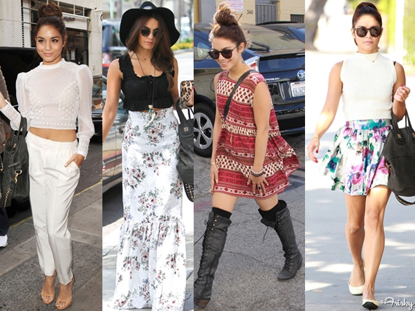Style Icon Of The Month Vanessa Hudgens 39 Causal Glam Chic Pinkgrasshopper