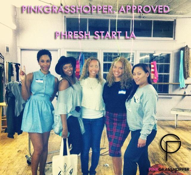 PinkGrasshopper  Special Events// 'Phresh Start LA' Gives