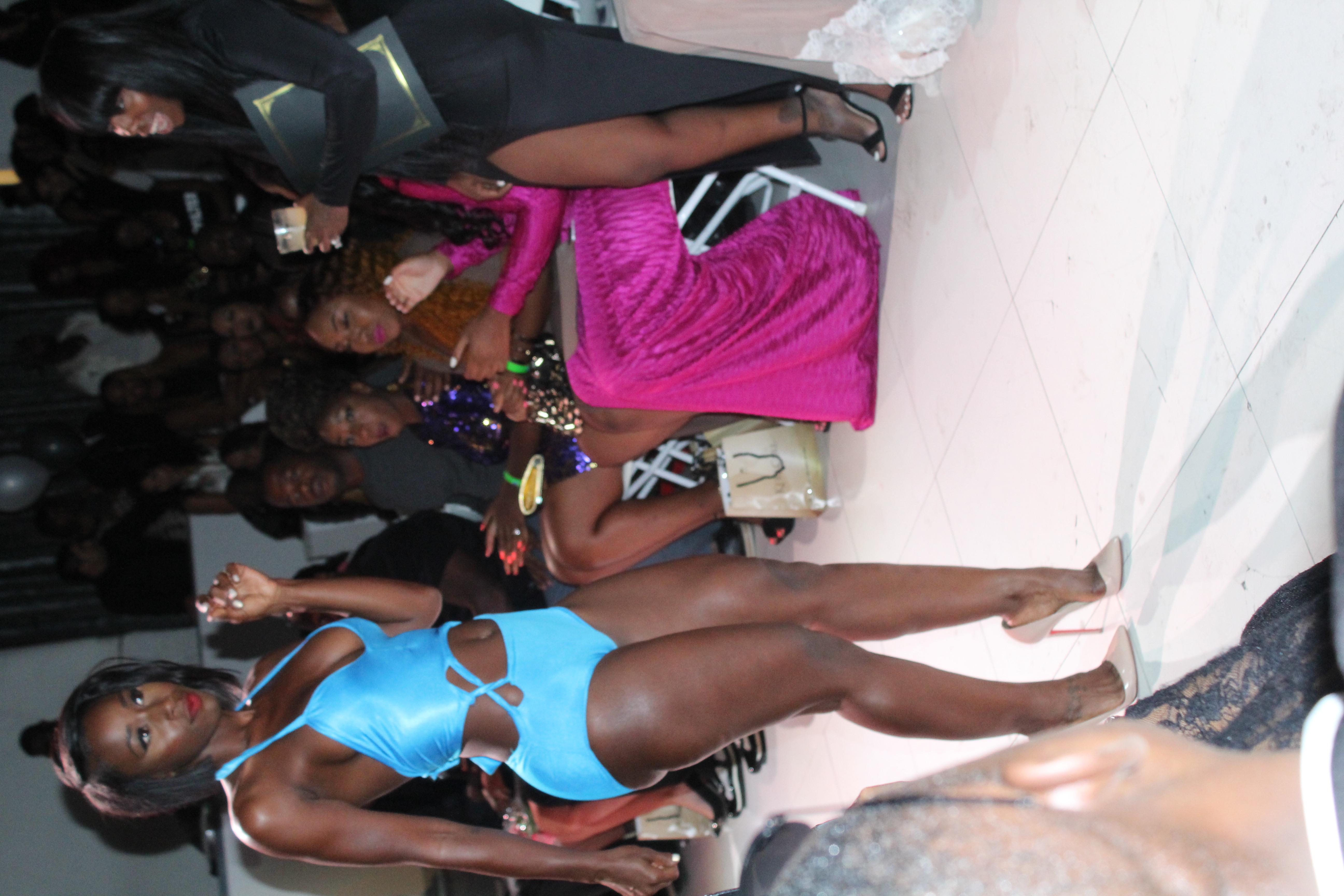 Ellaelisque Fashion Show Bria Myles